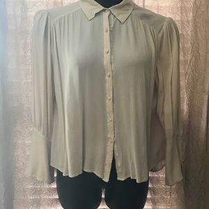 Off white Medium Button Down Umgee Blouse